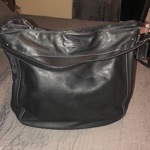 Authentic Coach Large Zoe Hobo bag